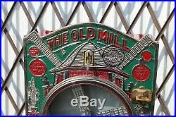 1920s Mutoscope Old Mill Wind Mill 1c Coin Op Gum Candy Machine