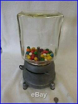 1925 Yu-chu Gumball Vending Machine Penny Vintage Coin Op Yu Chu