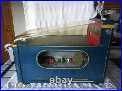 1940's Duck National Hunter Gumball Vending Penny Shooting Coin Op Machine