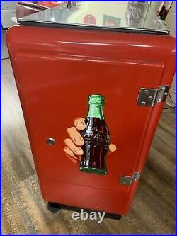 1950s Coca Cola Coke Coin Op Ideal 55 Cooler
