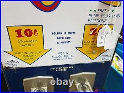 1960's Vend-Rite's Bozo The Clown Big Top Balloon Coin-Op Vending Machine RARE