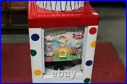 1960s Mr. Clown Coin Op Clown Head Vending Machine Toy Prize
