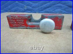 2 Ford Slug Rejectors Penny One Cent Coin Slider Part for Gumball Machine