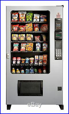2 X AMS Candy, Chip & Snack Vending Machine Gray 45 Select withCoin & Bill Mech