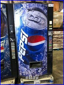 2 X Pepsi Vendo 480-8 Soda Vending Machine WithBill & Coin Acceptor