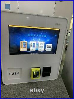 9 Slot Cigarette Candy Food Chips Bathroom Wall Table Coin Bill Vending Machine