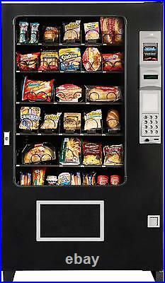 A M S Food/Deli Glassfront Vending Machine With Coin & Bill Acceptor (BRAND NEW)