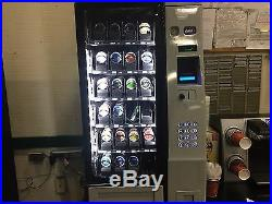 A M S Table Top Snack Vending Machine 24 Select WithCoin & Bill Acceptor (NEW)