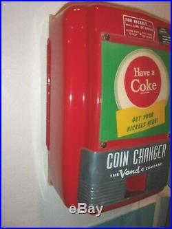 COCA COLA Vendo Coin Changer