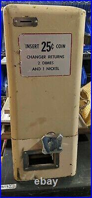 COIN CHANGER maker Coke Pepsi Jukebox Pool Table Pinball Game Room vendo 81 44