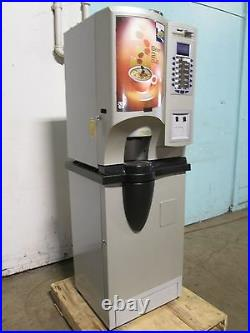 CRANE-GENESIS B2C US 12 COFFEE FLAVORS H. D. VENDING MACHINE withCOIN ACCEPTOR