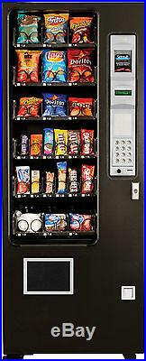 Candy Chip & Snack Vending Machine, 24 Select AMS Vendor + Coin & Bill Changer