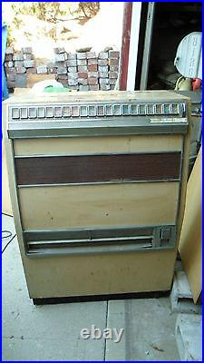 Cigarette Machine Coin Operated Vintage Possibly 1960's
