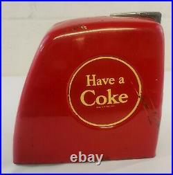Coca Cola 1940's Serve Yourself Coke Vendo Vending Machine Coin Slot Rare
