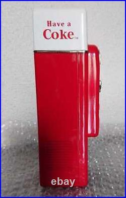Coca-Cola Coca-Cola Vending Machine Coin Bank Vintage Retro Ceramics Ceramics