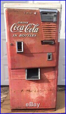 Coca Cola Westinghouse Soda Dispenser Machine Coke 1950s Coin