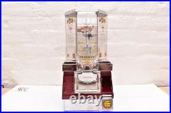 Coin Op Table Top Skill Game Basketball Gumball Candy Machine Play & Score