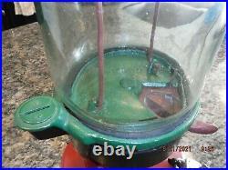 Columbus Peanut Machine Model A Vending Coin Op 1 Cent Cast Iron