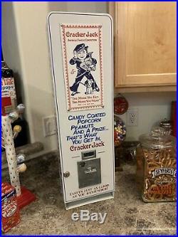 Cracker Jack Vending Machine Vending Coin-op Arcade