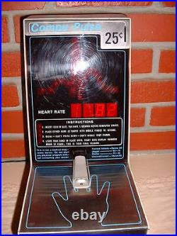 Digital Vending Machine Coin Operated Heart Monitor Vintage Brand New Old Stock