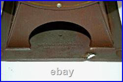 Early Vintage Diamond Matches One Cent Vending Coin Op Dispenser 1910-1920