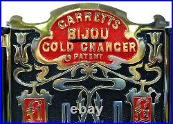 Garretts Bijpiu Gold Coin Changer (Restored) 1900