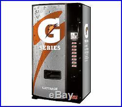 Gatorade Soda Vending Machine With Coin & Bills Dixie Narco 600E-9 American Made