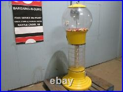 Global Gumball H. D. Commercial Coin Operated Dubble Bubble Gum Ball Machine