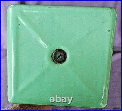 Gumball Machine Master 1 Cent Coin Op 1930's Green Porcelain