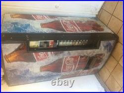 Intellevend 2000 Coke Coca-cola Vending Machine 110 Volt Bills Coins