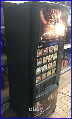Klix Outlook Hot Drinks Vending Machine With Coin Mechanism