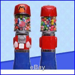 Mario Capsule Toys Candy One Dollar Coin Bulk Vending Machine