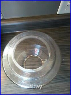 Northwestern 33 Gumball peanut gum embossed Machine Glass Globe coin op ball