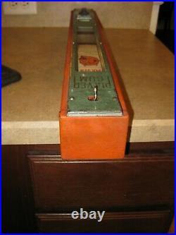 Pulver One Cent Coin Operated Vending Machine Original Finish Unrestored