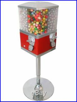 Quad Bouncy Ball / Sweet, Retro Coin Operated Vending Machine. Commercial Grade