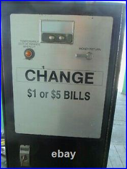 ROWE BC-12 BILL CHANGER Change Machine Bills To Coins Vending