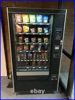 Rowe Candy Snack Vending Machine With Bill Acceptor And Coin Changer
