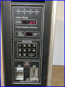 Rowe Candy Snack Vending Machine With Coin Op Dollar Validator