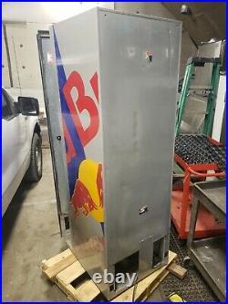 Royal 372 Red Bull Soda Vending Machine model RvRB-372-3 dallor coin