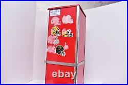 Sticker / Tattoo Coin Operated Vending Machine Greenwald 4GI Red 24 no key