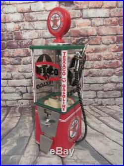 Texaco gas vintage gumball machine coin-op machine game room accessories bar