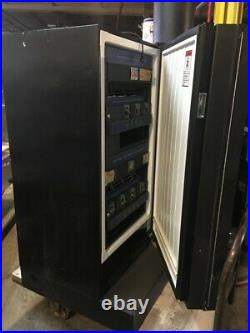 VENDING EDINA Coins MACHINE Refrigerated Double Doors for Drinks ad Snacks
