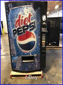 Vendo 407-8 Soda Vending Machine WithCoin & Bill Accept (Diet Pepsi)