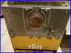 Vintage Coin Operated Cigarette Machine Antique Op Vending Parts or Restoration