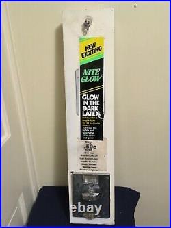 Vintage Condom Vending MachineCoin Op NIGHT GLOWGLOWS IN DARK50 CentWorks