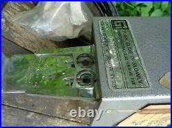Vintage GREENWALD INDUSTRIES Car Wash Coin Operated Box with Keys