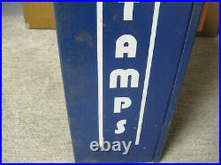 Vintage Postage Stamp Vending Machine 1960s 70's Coin Operated Post Office