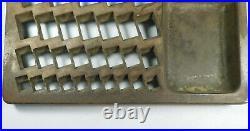 Vintage Staats Tray Pat Feb 25 1890 Metal Bank Coin Tray