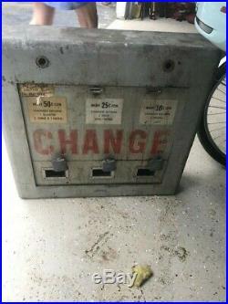 Vintage Standard Change Maker 5 Cent Coin Machine Giant