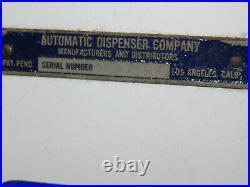 Vintage US Postal Stamp Coin -Op Machine